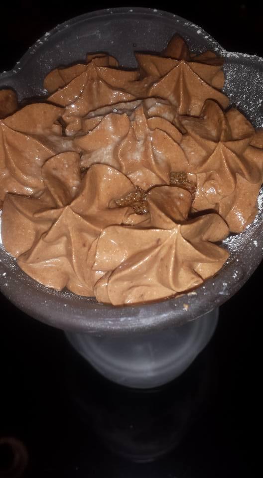 COPPA GOLOSA RICOTTA, CAFFE' E CIOCCOLATO