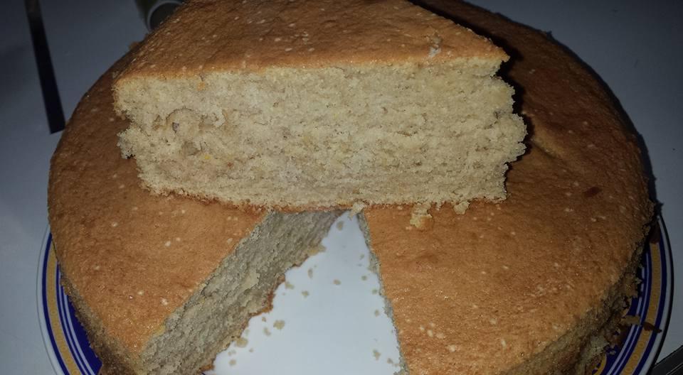 torta senza burro / con la panna nell'impasto