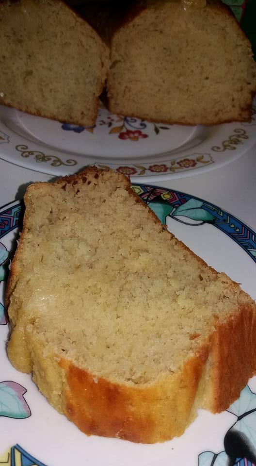 PLUM CAKE LIGHT CON BANANE E YOGURT GRECO