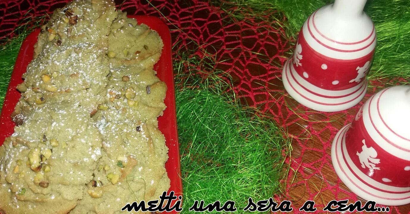 biscotti al pistacchio con soli tre ingredienti