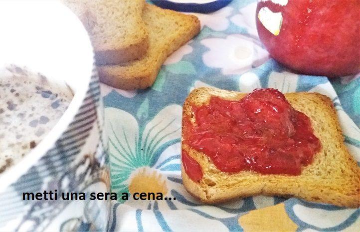 marmellata ipocalorica di fragole