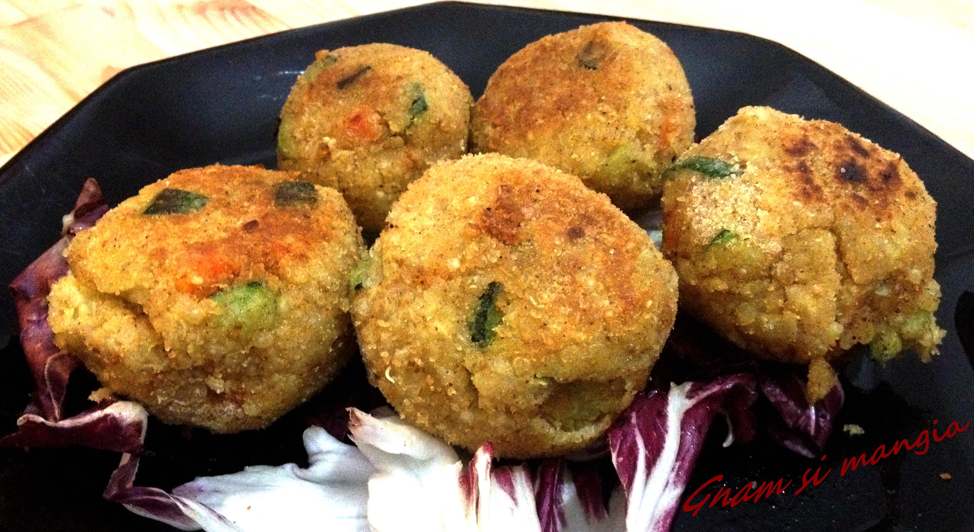 Ricette Vegetariane Quinoa.Polpette Vegetariane Di Quinoa E Verdure Gnam Si Mangia