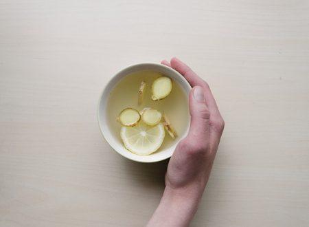 Tisana limone e zenzero