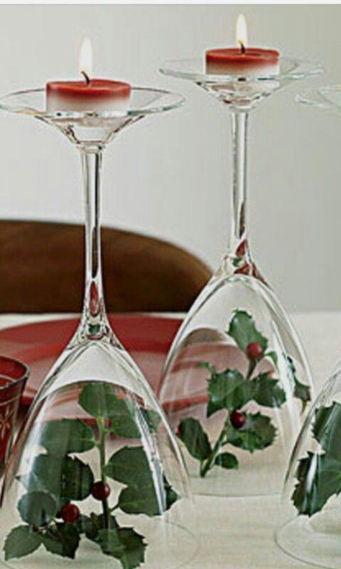Candelabri Fai Da Te.5 Idee Per La Tavola Di Natale Gnam Si Mangia
