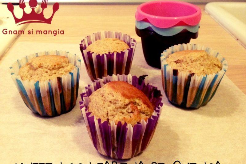 Mini muffin con farina di quinoa