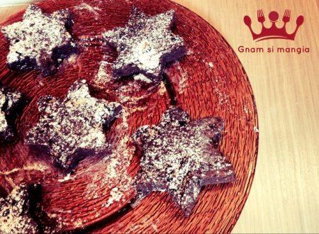 Ricetta Brownies: Stelle di Natale