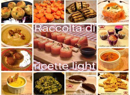 Raccolta di ricette light post feste