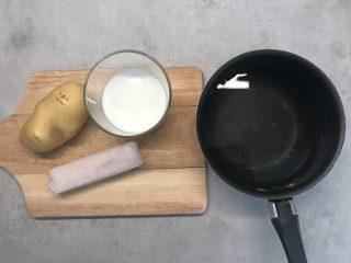 crema di merluzzo e patate