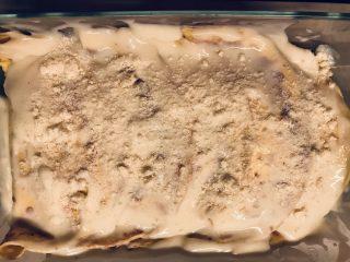 Crepes con mozzarella e prosciutto