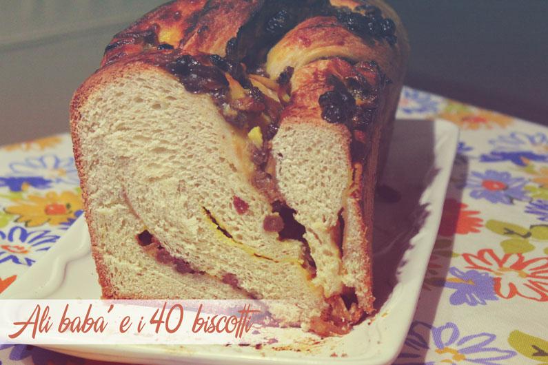 Pan brioche alle mele e crema