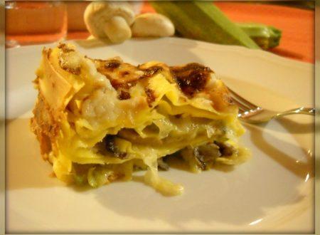 Lasagne vegetariane – Vegetarian Lasagne