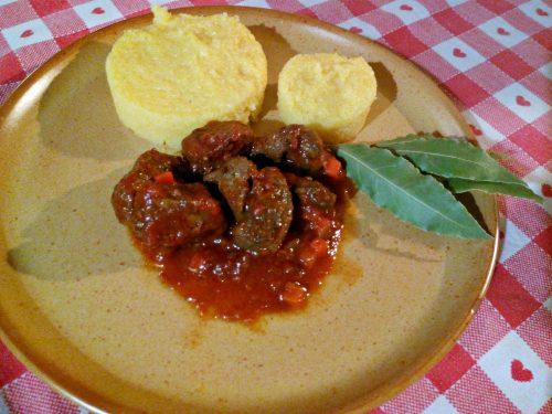 Cinghiale e polenta – Boar and Polenta