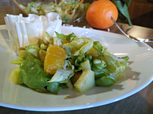 Insalata con arance & co – Salad with oranges & co.