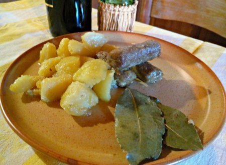 Salsicce di manzo e patate – Beef sausages and potatoes