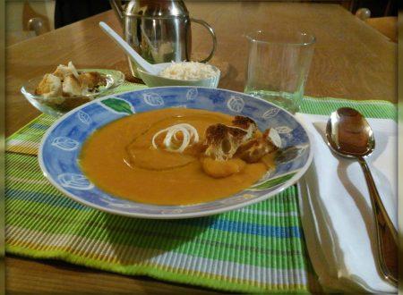 Vellutata di carote – Carrots' velvet sauce