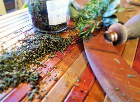 Battutino di erbe aromatiche – Minced herbs