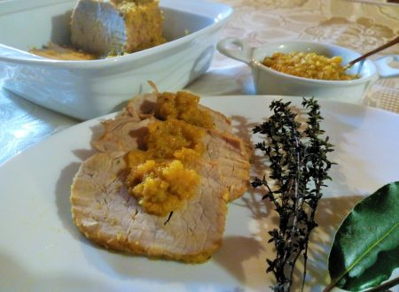 Brasato di arista in  bianco – White braised pork loin