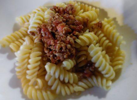 Fusilli al ragù di vitello – Fusilli with veal meat sauce