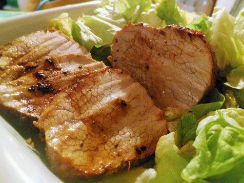 Vitello alla Grappa Riesling – Riesling Grappa flavored veal