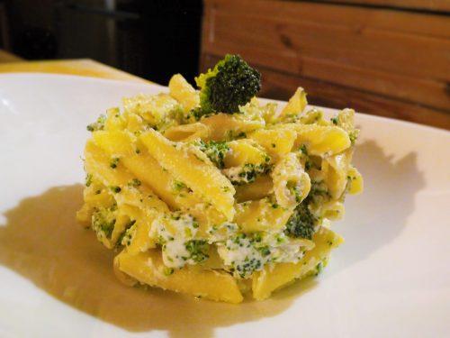 Pasta con ricotta e broccoli – Pasta with ricotta cheese and broccoli