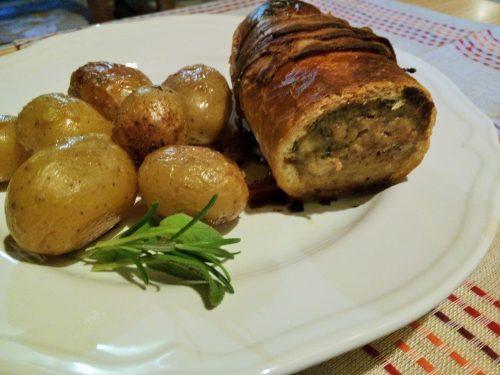 Polpettone in crosta di pane – Meat loaf en croute