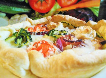 Torta salata dell'orto – Vegetables quiche