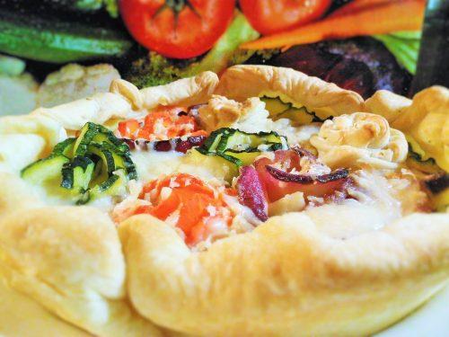 Torta salata dell'orto – Vegetables quiche