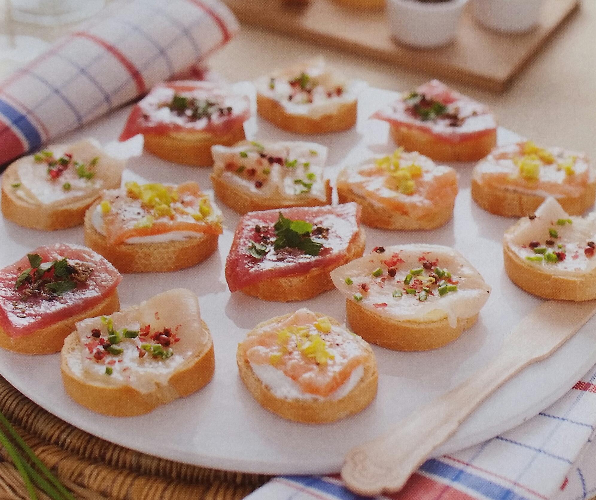 Ricette di tartine con pesce