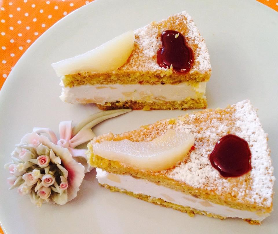 Torta Ricotta e Pere...di Sal De Riso