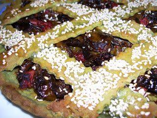 Crostata con peperoncini verdi