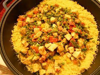 Cous Cous pollo e verdure