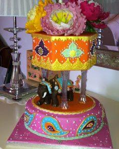 Indian cake…Torta di compleanno