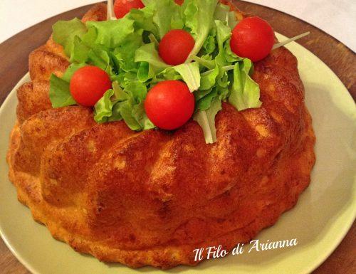 Babà salato rustico…ricetta napoletana