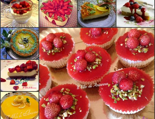 Cheese cake…ricette ed idee  buonissime