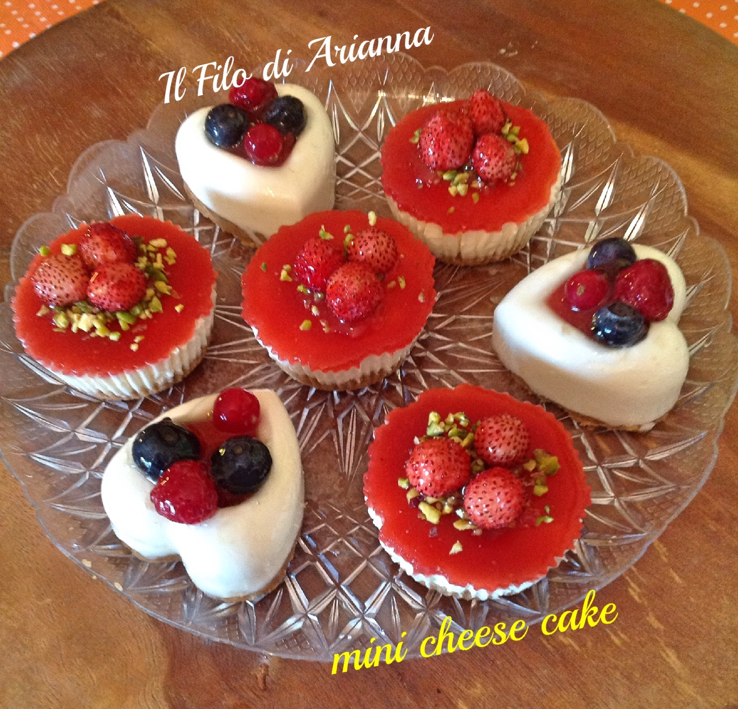 cuori cheesecake