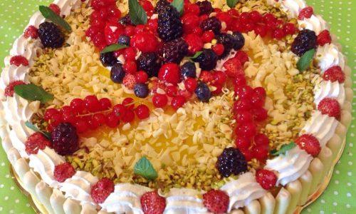 Cheesecake limone ai frutti di bosco