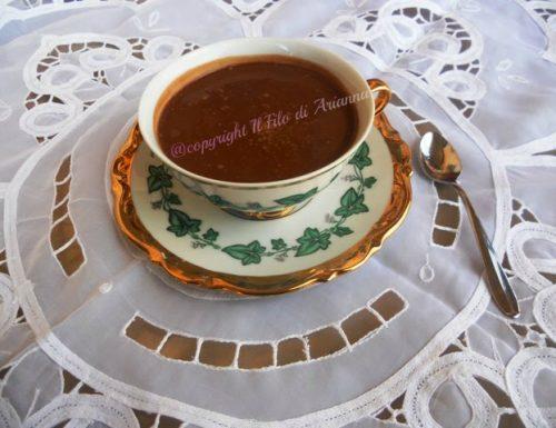 Cioccolata calda, goduriosa