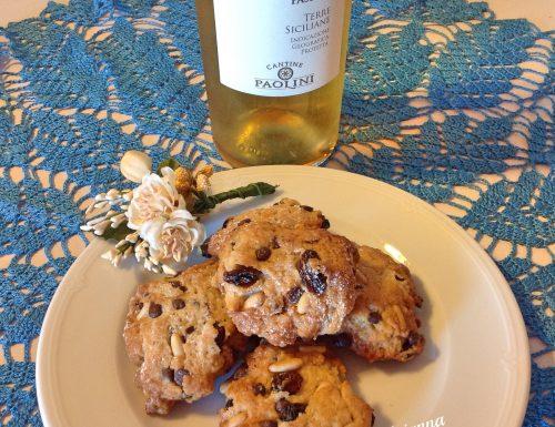 Biscotti dolci al vin santo