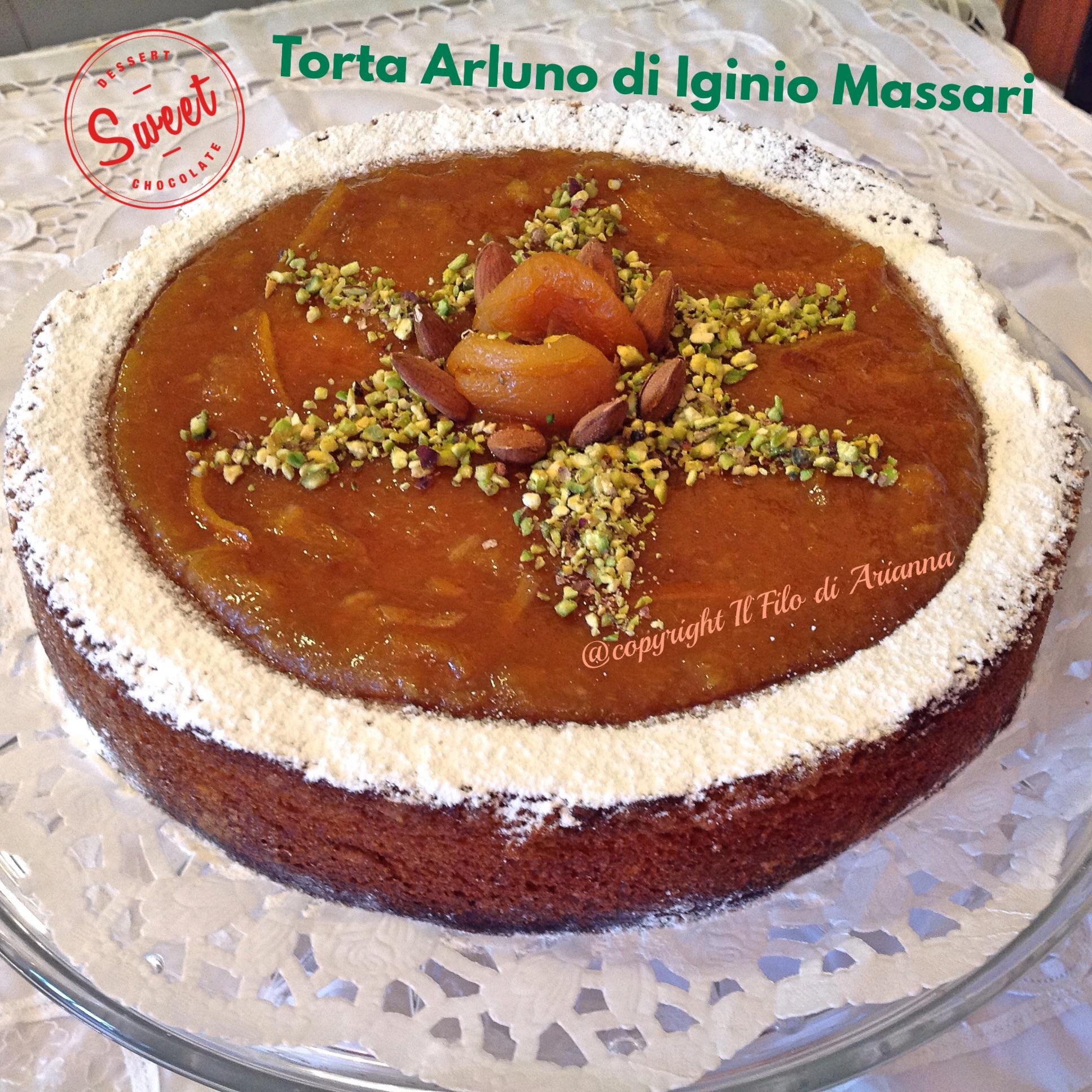 Torta Arluno di Iginio Massari  Il filo di Ariannas
