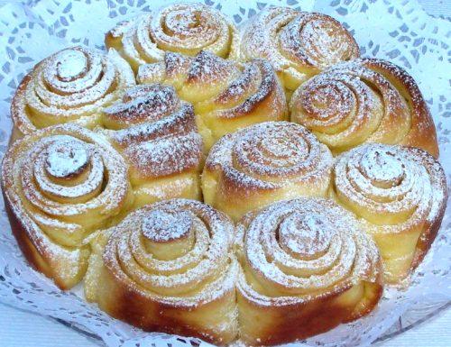 torta di rose al burro
