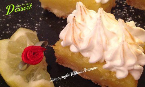 Brownies…Dolcetti al limone di Laura Ravaioli