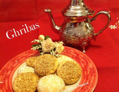 Ghribas biscotti marocchini al sesamo