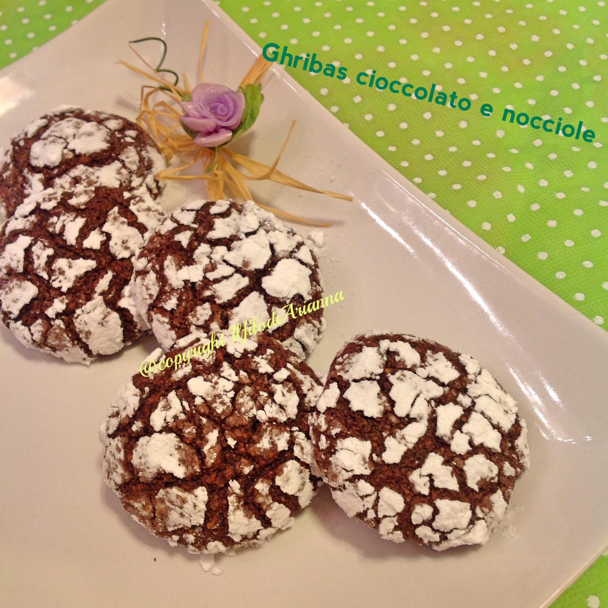 Ghribas cioccolato, nocciole e sesamo