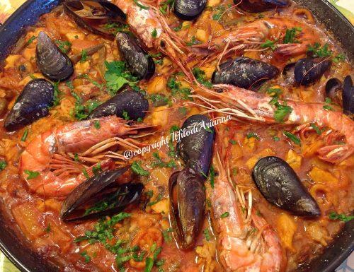Paella alla valenciana…..Espana!!!!