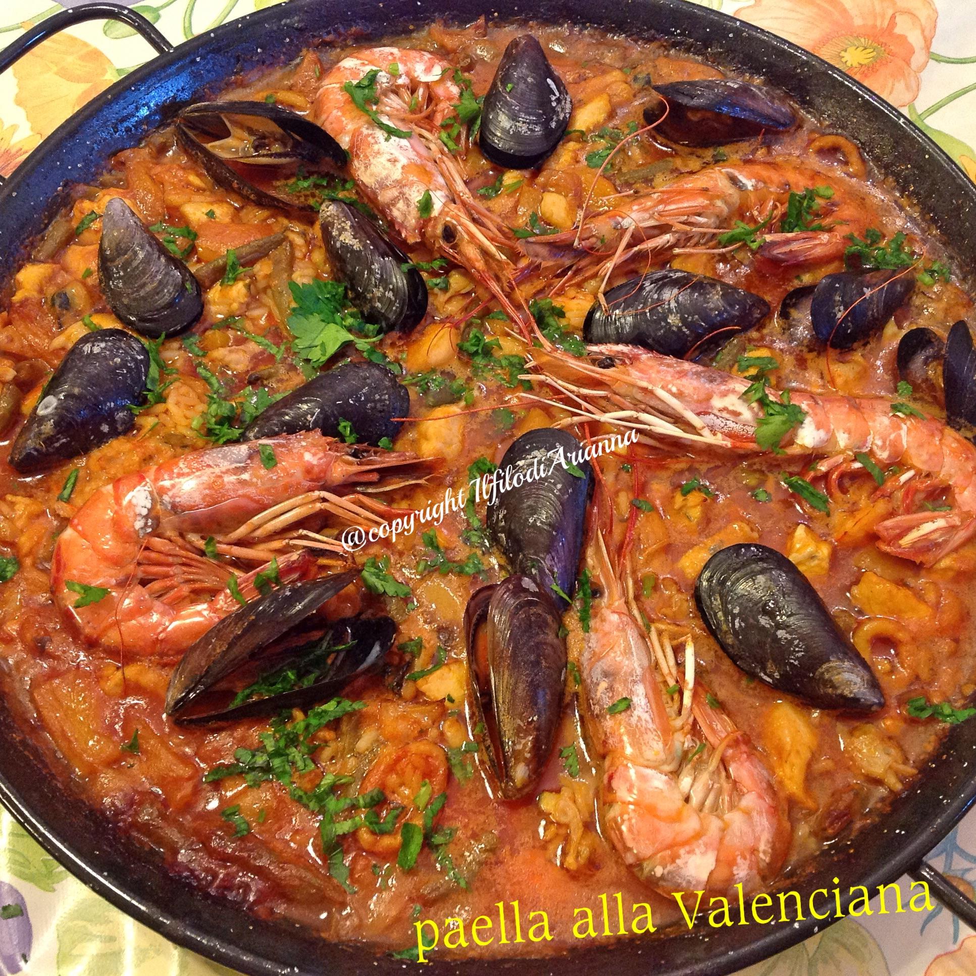Paella alla valenciana.....Espana!!!!