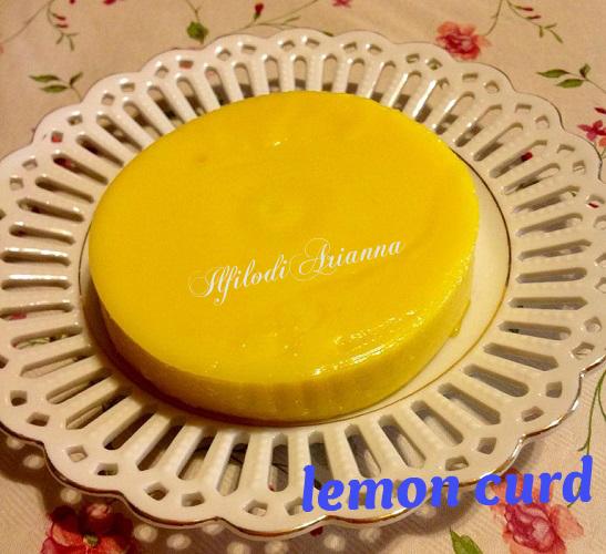 LEMON CURD crema al limone