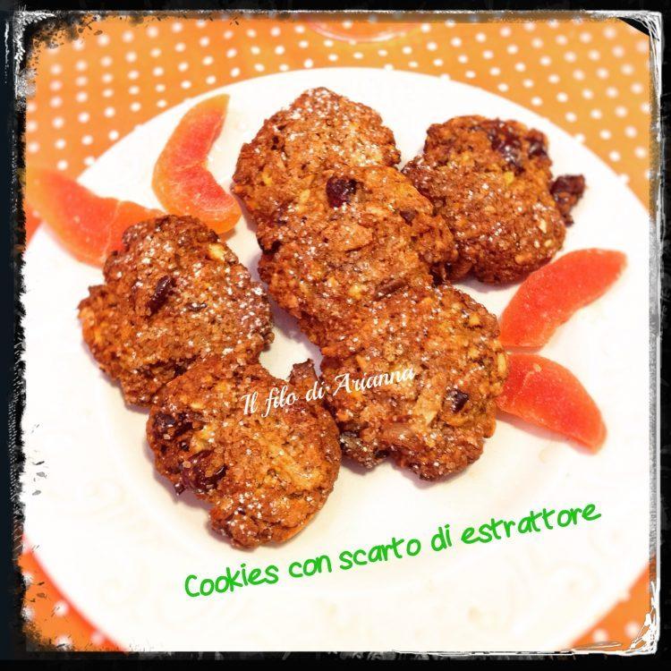 Cookies con scarto di estrattore