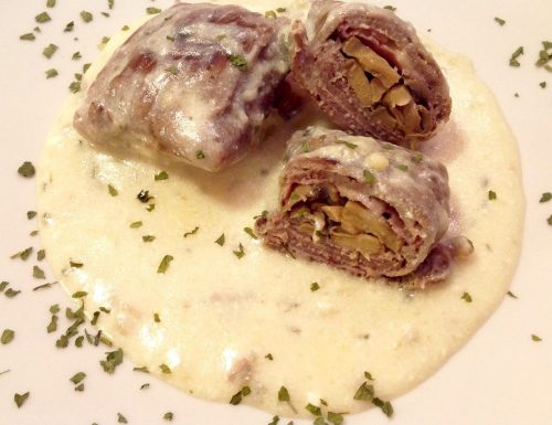 Bauletti di carne ripieni
