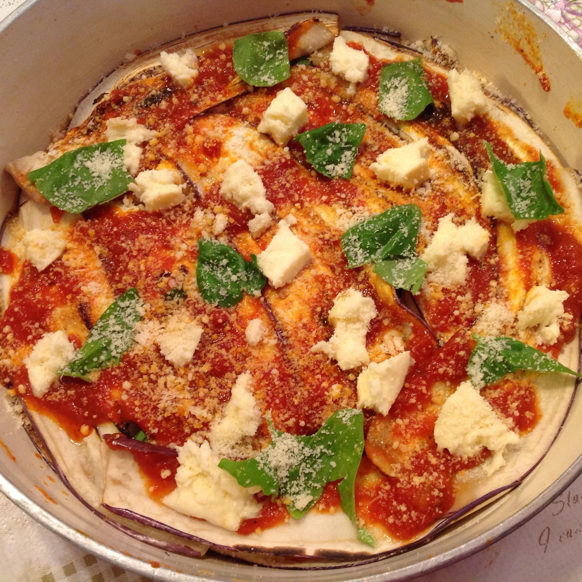 Parmigiana melanzane in padella