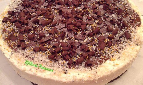 Cheese cake cocco e nutella